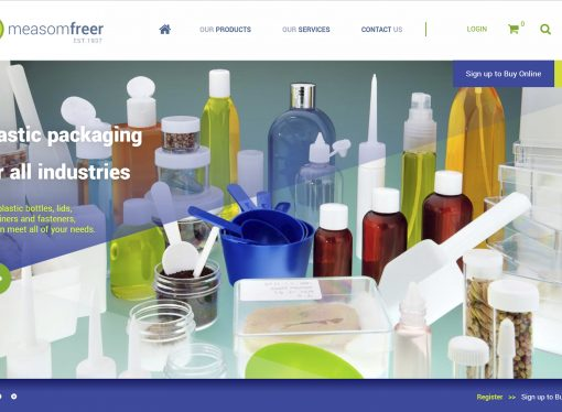 New Measom Freer website is a site to behold
