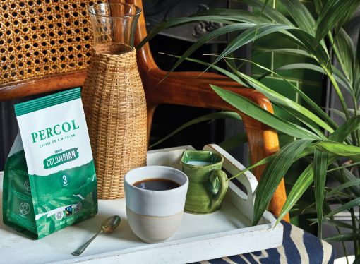 Parkside creates compostable coffee packaging for Percol